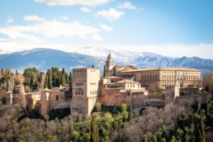 Famous European landmarks